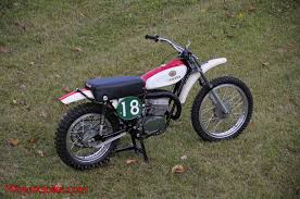 first motocross bike yamaha