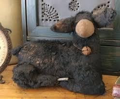 Sheep Home Decor Primitive Handmade Aged Sheep Home Decor Farm Doll Handmade In