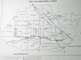 Judgemental Map Of Los Angeles San Fernando Valley Branch 1973 Part Ii And Map Roundtripticket Me