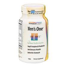 rainbow light vitamins mens rainbow light men s one tablets 30 ct from albertsons instacart
