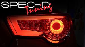 spec d tail lights specdtuning demo video 2012 2015 scion frs fr s 86 brz led tail