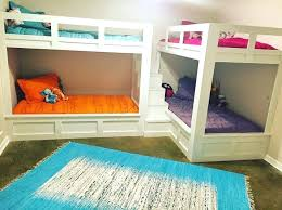 Four Bunk Bed Four Bunk Beds Glassnyc Co