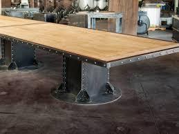 Pedestal Table Bases I Beam Table Base U2013 Vintage Industrial Furniture
