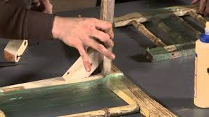 how to repair a wooden dining chair with michael pendleton youtube