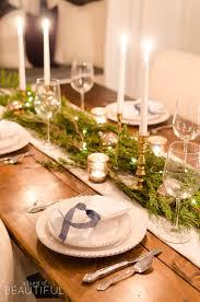 ideas how to decorate christmas table 15 christmas dinner table decoration ideas for your festive feast