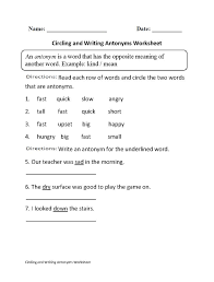 the 25 best antonyms worksheets ideas on pinterest synonyms and