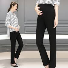 maternity work trousers 3510 ol maternity office laides formal work black trousers