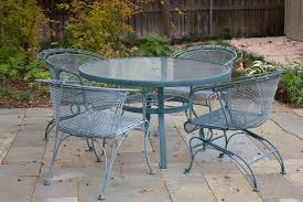Wrought Iron Patio Table Set Remarkable Wrought Iron Outdoor Furniture Home Decorations Spots