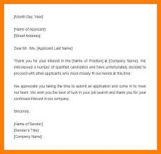rejection letter sample mortgage loan rejection example loan
