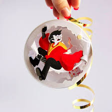harry potter paper ornaments popsugar smart living