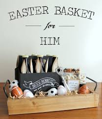 Man Gift Basket 20 Cute Homemade Easter Basket Ideas Easter Gifts For Kids And