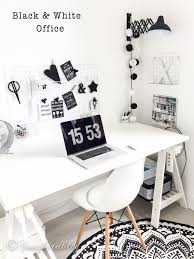 Black And White Home Interior Home Office Reveal A New Modern Black And White Home Office