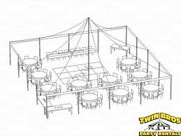 60 inch round table seats 30x60 tent seating layout 1 seating for 88 people with 60 inch