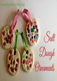 salt dough tree ornaments lights decoration
