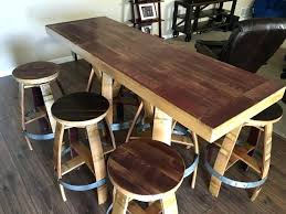 rectangle high top table rectangle pub table set furniture rectangle bar table and chairs