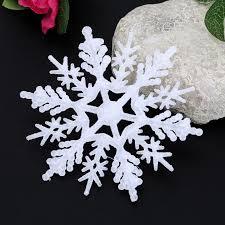 pendant deer glitter snowflake ornaments hanging