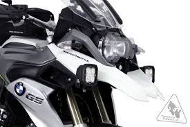 denali auxiliary light mounting bracket for bmw r1200gs lc 13 18