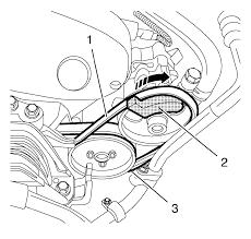 chevrolet sonic repair manual power steering pump belt