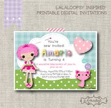 lalaloopsy invitations 28 images etsy your place to buy and