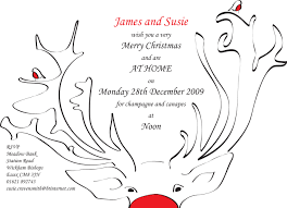 christmas party invitation wight creative