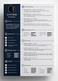 Template For Professional Resume In Word Free Creative Resume Template In Psd Format U2026 Pinteres U2026