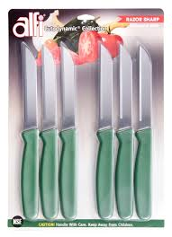 Knives Kitchen Alfi Cutodynamic Made In Usa 6 Set Sandwich Knives