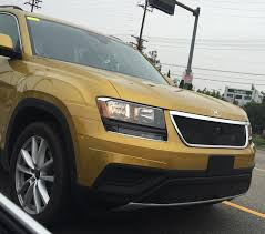 volkswagen jeep touareg is this strange looking suv the full size volkswagen crossover in