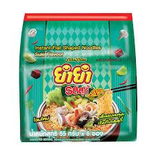 cuisine yum yum yum yum jumbo instant noodles suki 55g pack 6 tops