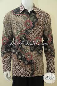 desain baju batik untuk acara resmi kemeja batik klasik modern baju batik pria dewasa desain mewah