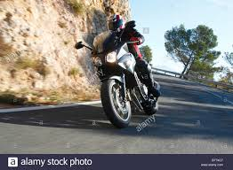 honda cbf 600 motorbike honda cbf 600 bend stock photo royalty free image