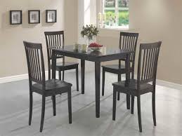Black Kitchen Table Home Design Styles - Table for small kitchen