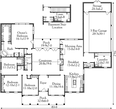 layouts of houses country style house plan 4 beds 2 5 baths 2925 sq ft plan 406