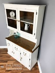 Kitchen China Cabinet Hutch White Farmhouse Kitchen Buffet Hutch China Cabinet Urban