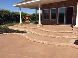 Concrete Decks And Patios Concrete Contractors Paving Stamping Stockton Ca