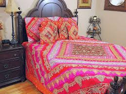 sari designer indian duvet decorative bedding ethnic home decor 7p