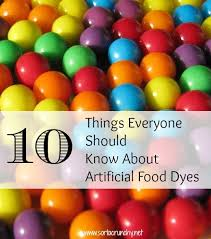 ten things everyone should know about artificial food coloring