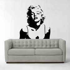 wall stickers decals the park print company marilyn monroe vinyl wall sticker iconic wall sticker wall decal wall art