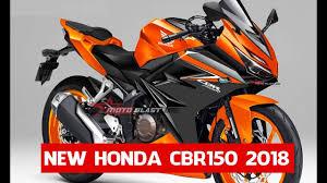 honda 2018 new car models all new honda cbr150 model 2018 siap bersanding dengan r15 v3 0
