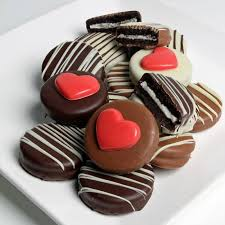 valentines day chocolate s day chocolate dipped oreo cookies 12pc the fruit company