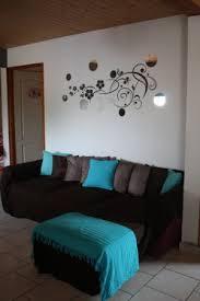 chambre marron et turquoise chambre marron chocolat et bleu turquoise inspirant salon chocolat