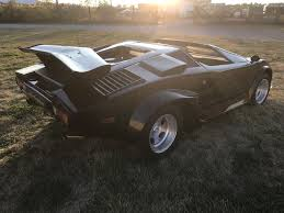 lamborghini countach replica very rare lamborghini countach replica kit car cost 65 000 to