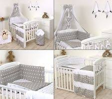 Nursery Bedding Set 100 Cotton Cot Canopy Nursery Bedding Sets Ebay