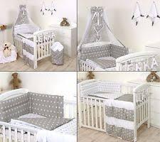 Nursery Cot Bedding Sets 100 Cotton Cot Canopy Nursery Bedding Sets Ebay