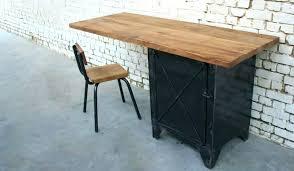 bureau design industriel bureau metal et bois bureau style en mal ikea bureau bois et metal