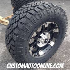 Goodyear Wrangler Off Road Tires Custom Automotive Packages Off Road Packages 17x8 Xd Spy