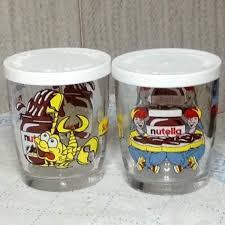 bicchieri della nutella bicchiere nutella da collezione originale a pisa kijiji