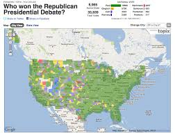 Columbia Zip Code Map by The Ron Paul Map From The Topix Poll Just Look At All That Green