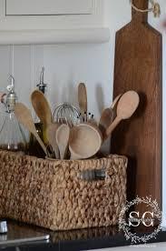 Kitchen Utensil Holder Ideas 349 Best Kitchen Images On Pinterest Kitchen Backsplash Ideas