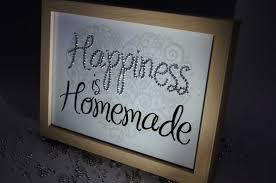 happiness is homemade sparkle word art pictures quotes sayings