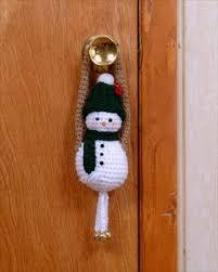 snowman door greeter free crochet pattern freebie jeebies crochet
